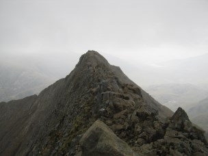 One of the Pinncles on Crib Goch