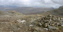 Boulders on Scafell Pike