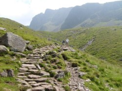 Scafell in view