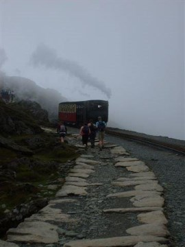 The final stage on the Llanberis Path