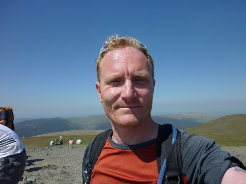 Ady Gray on Blencathra