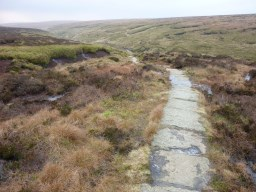 The Perfectly Laid Path to the Summit of Pendle
