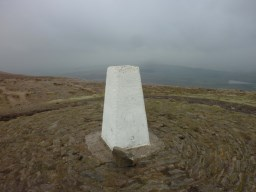 Trig Point at Pendle Summit