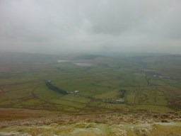 View over the Ribble Valley