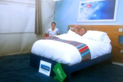 The completed Travelodge Bedroom on Ben Nevis Summit