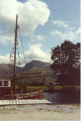 Ben Nevis from the Caledonian Canal