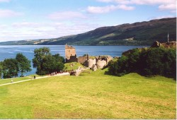 Castle Urquhart and Loch Ness