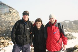 Achieving Ben Nevis as part of the Three Peaks Challenge