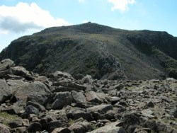 Scafell Pike from a distance