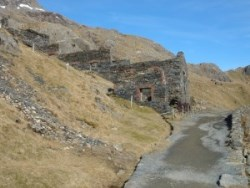 Old Mine Buildings by Miners Track, Snowdon