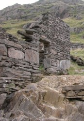 Old Mine Buildings on Snowdon