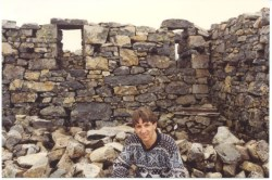 Ruins of buildings on the Summit of Ben Nevis