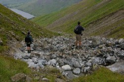 Climbing Scafell Pike in the dark