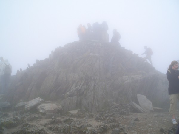 Snowdon Summit Cairn