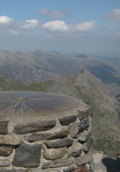 Top of Snowdon Summit