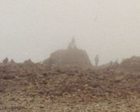 Cairn on summit of Ben Nevis
