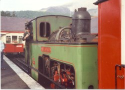 Noel Siabod at Llanberis